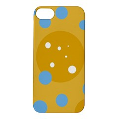 Blue and yellow moon Apple iPhone 5S/ SE Hardshell Case