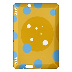 Blue and yellow moon Kindle Fire HDX Hardshell Case