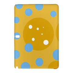 Blue and yellow moon Samsung Galaxy Tab Pro 10.1 Hardshell Case