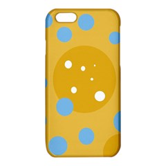 Blue and yellow moon iPhone 6/6S TPU Case