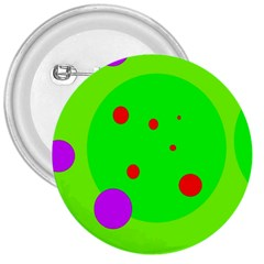 Green and purple dots 3  Buttons