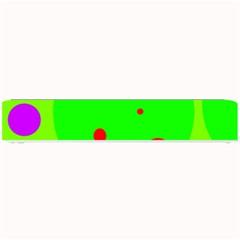 Green and purple dots Small Bar Mats