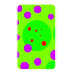 Green and purple dots Memory Card Reader