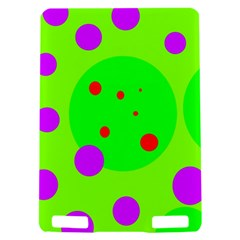 Green and purple dots Kindle Touch 3G