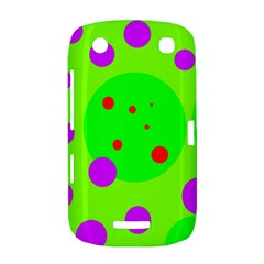 Green and purple dots BlackBerry Curve 9380