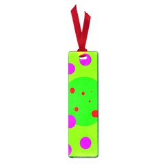 Green and purple dots Small Book Marks