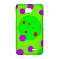 Green and purple dots LG Optimus L70