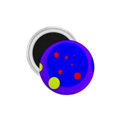 Purple and yellow dots 1.75  Magnets