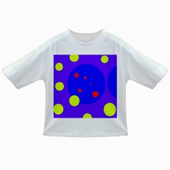 Purple and yellow dots Infant/Toddler T-Shirts