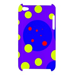 Purple and yellow dots Apple iPod Touch 4