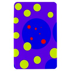 Purple and yellow dots Kindle Fire (1st Gen) Hardshell Case