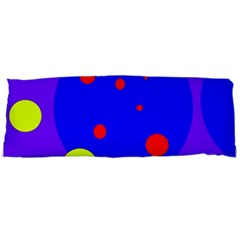 Purple and yellow dots Body Pillow Case Dakimakura (Two Sides)