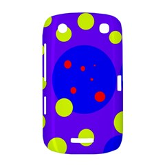Purple and yellow dots BlackBerry Curve 9380