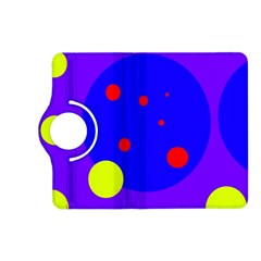 Purple and yellow dots Kindle Fire HD (2013) Flip 360 Case