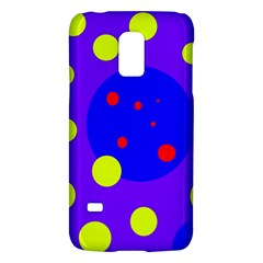 Purple and yellow dots Galaxy S5 Mini