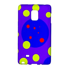 Purple and yellow dots Galaxy Note Edge
