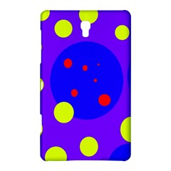 Purple and yellow dots Samsung Galaxy Tab S (8.4 ) Hardshell Case