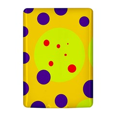 Yellow and purple dots Kindle 4