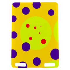 Yellow and purple dots Kindle Touch 3G