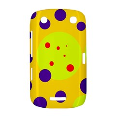 Yellow and purple dots BlackBerry Curve 9380