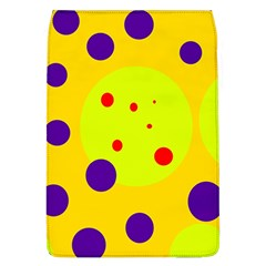 Yellow and purple dots Flap Covers (L)