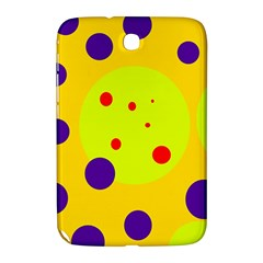 Yellow and purple dots Samsung Galaxy Note 8.0 N5100 Hardshell Case
