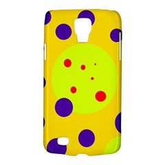 Yellow and purple dots Galaxy S4 Active