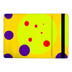 Yellow and purple dots Samsung Galaxy Tab Pro 10.1  Flip Case