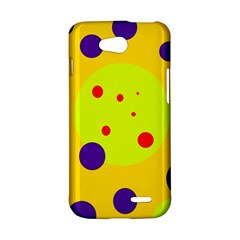Yellow and purple dots LG L90 D410