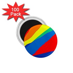 Colorful abstract design 1.75  Magnets (100 pack)