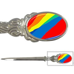 Colorful abstract design Letter Openers