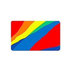 Colorful abstract design Magnet (Name Card)