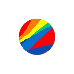 Colorful abstract design Golf Ball Marker