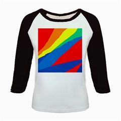 Colorful abstract design Kids Baseball Jerseys