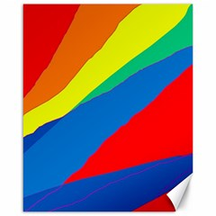 Colorful abstract design Canvas 16  x 20