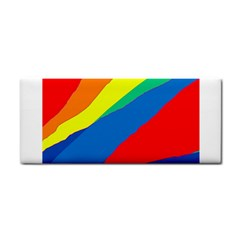 Colorful abstract design Hand Towel