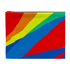 Colorful abstract design Cosmetic Bag (XL)