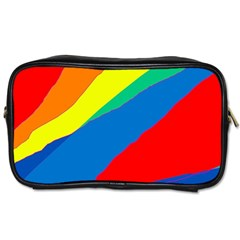 Colorful abstract design Toiletries Bags 2-Side