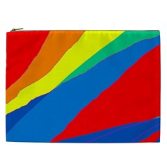 Colorful abstract design Cosmetic Bag (XXL)