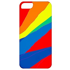 Colorful abstract design Apple iPhone 5 Classic Hardshell Case