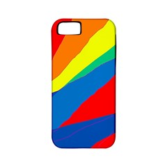 Colorful abstract design Apple iPhone 5 Classic Hardshell Case (PC+Silicone)