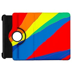 Colorful abstract design Kindle Fire HD Flip 360 Case