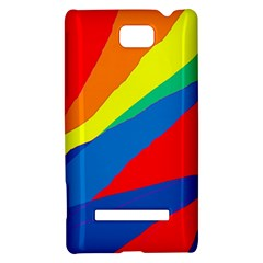 Colorful abstract design HTC 8S Hardshell Case