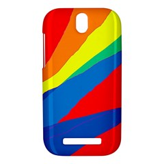Colorful abstract design HTC One SV Hardshell Case