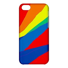 Colorful abstract design Apple iPhone 5C Hardshell Case