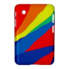 Colorful abstract design Samsung Galaxy Tab 2 (7 ) P3100 Hardshell Case
