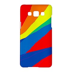 Colorful abstract design Samsung Galaxy A5 Hardshell Case