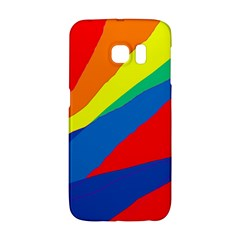Colorful abstract design Galaxy S6 Edge