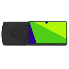 Colorful abstract design USB Flash Drive Rectangular (1 GB)