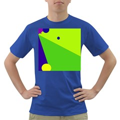 Colorful abstract design Dark T-Shirt